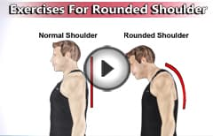 5 Exercises For Rounded Shoulder