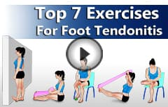 Exercises For Tendonitis of Foot