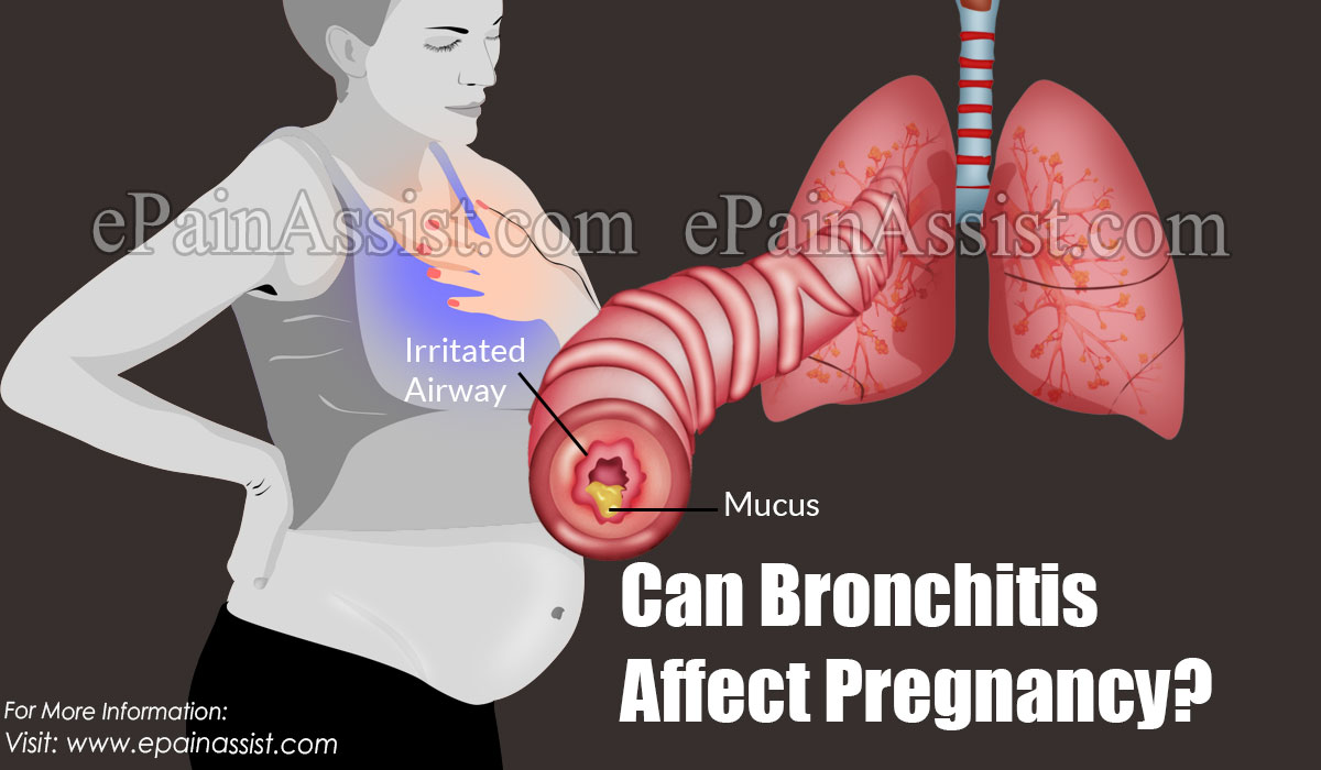 Can Bronchitis Affect Pregnancy?