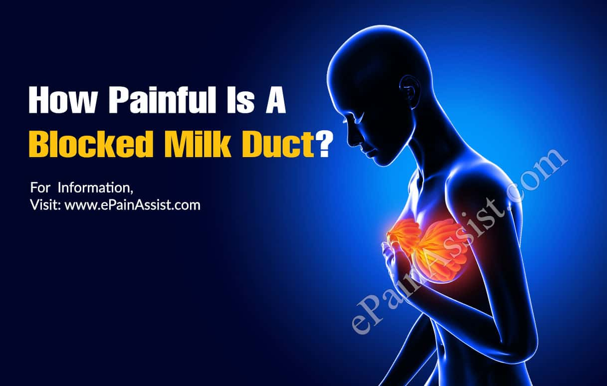 How Painful Is A Blocked Milk Duct?