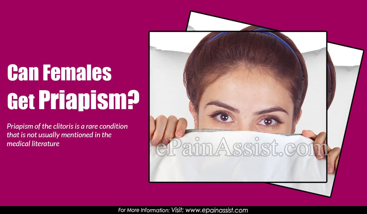 Can Females Get Priapism?