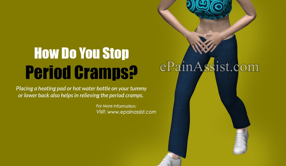How Do You Stop Period Cramps?