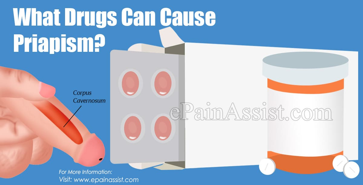 What Drugs Can Cause Priapism?