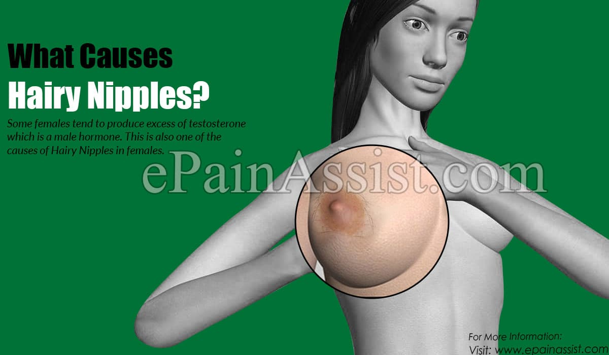 What Causes Hairy Nipples?