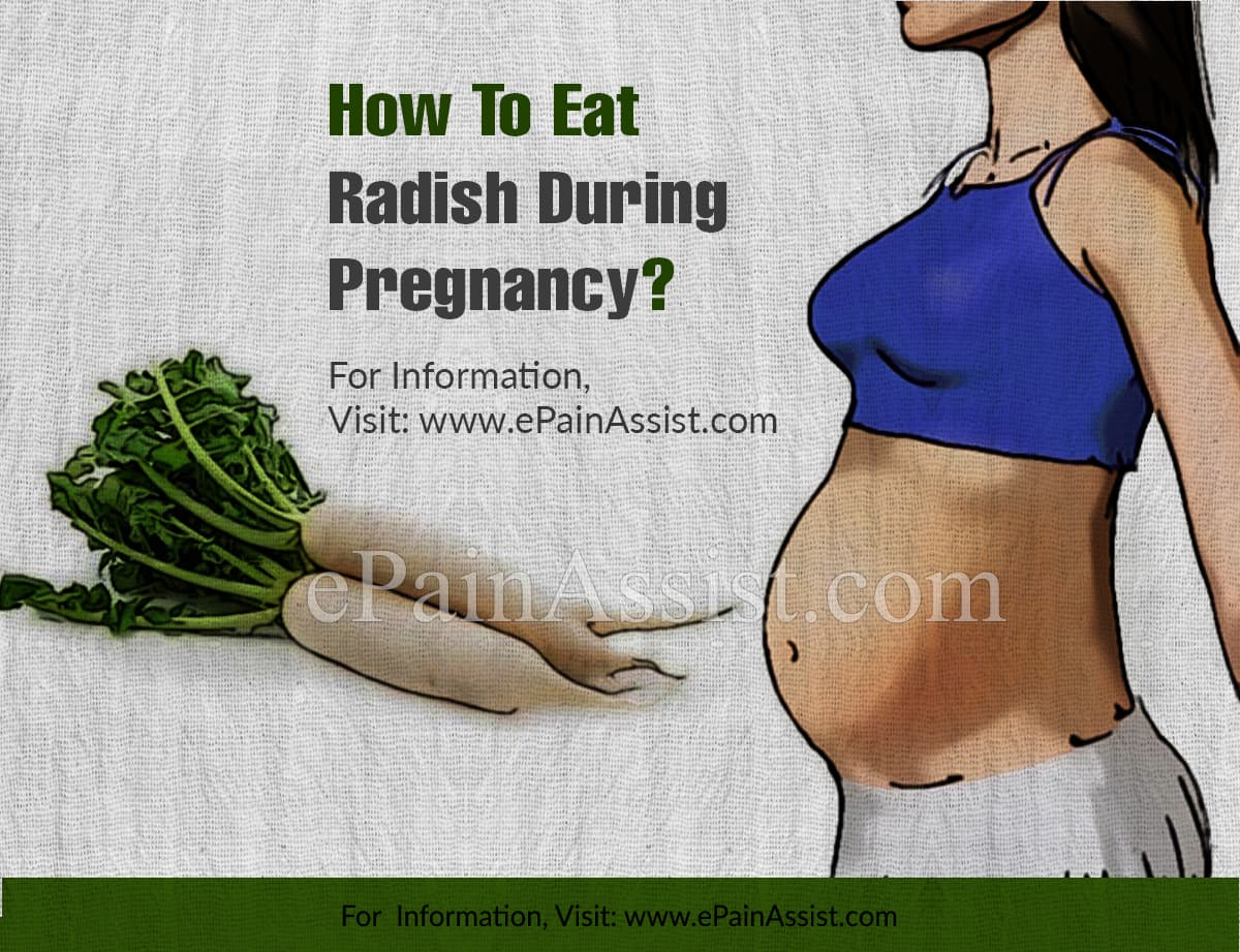 How To Eat Radish During Pregnancy?