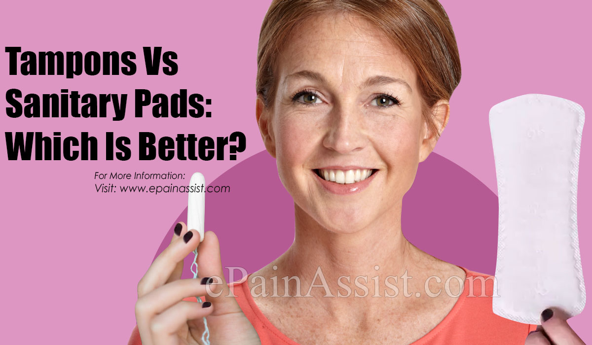 Tampons Vs Sanitary Pads: Which Is Better?