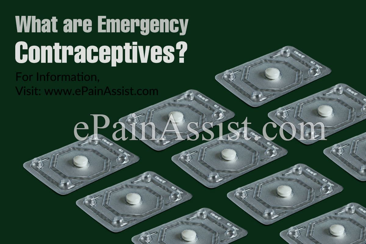 What Are Emergency Contraceptives?