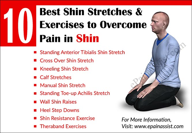 10 Best Shin Stretches and Exercises to Overcome Pain in Shin