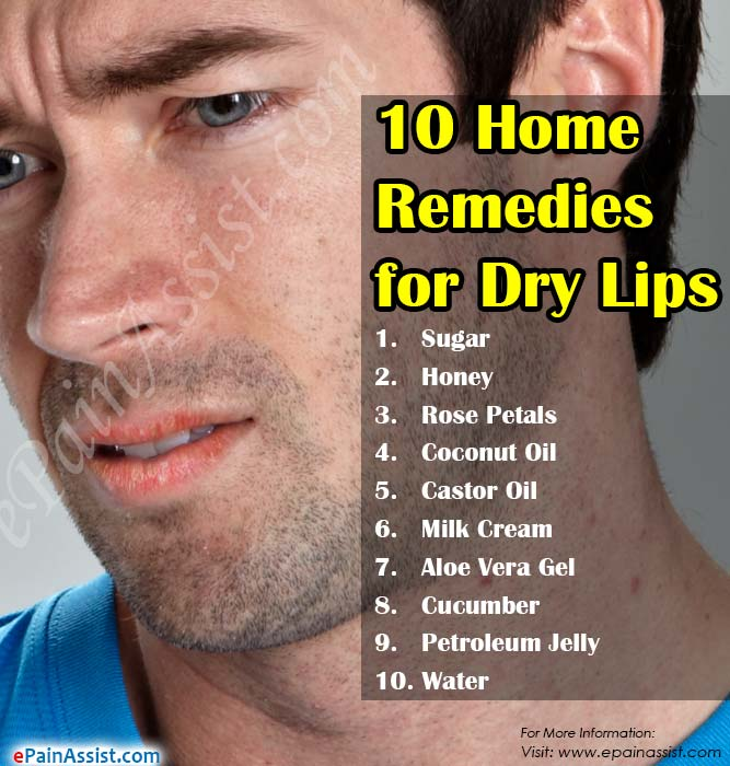 10 Home Remedies For Dry Lips