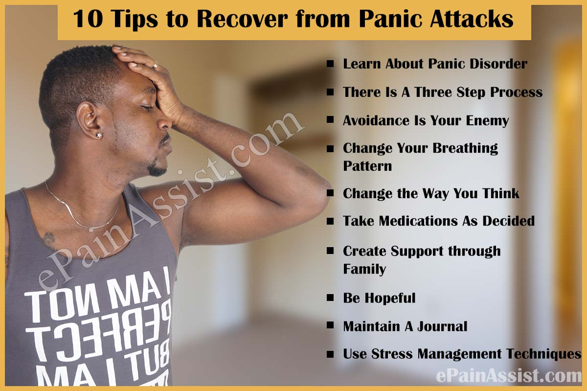 10 Tips to Recover from Panic Attacks
