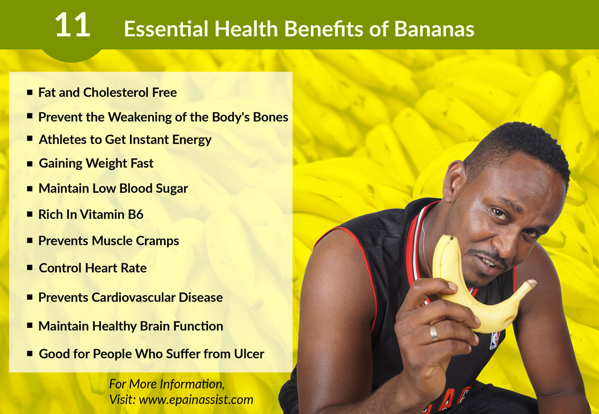 Health Benefits of Bananas!