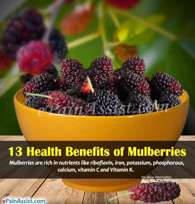 13 Health Benefits of Mulberries & its Side Effects