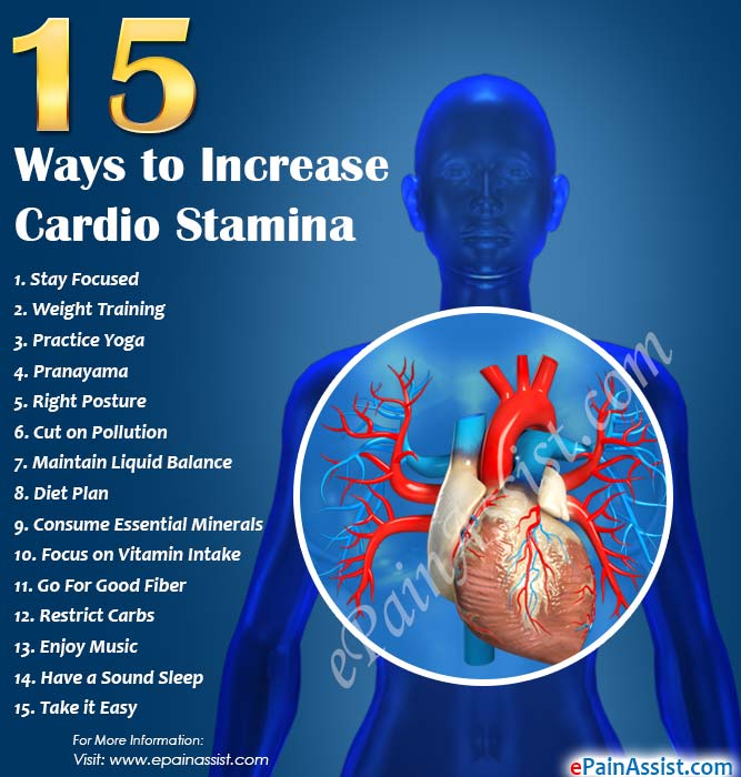 What to do to increase stamina