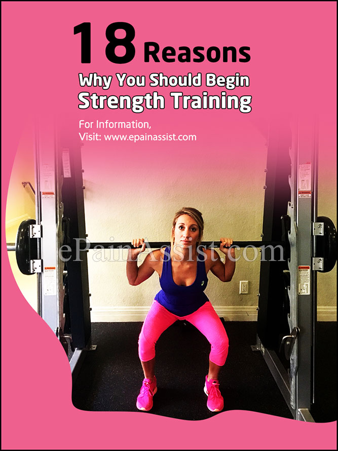 18 Reasons Why You Should Begin Strength Training