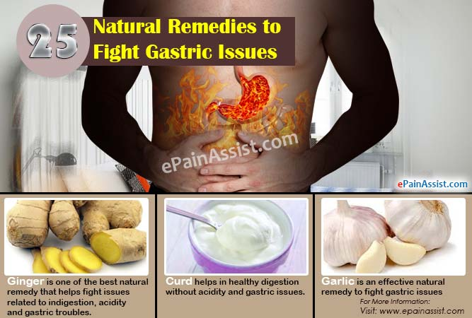 25 Natural Remedies to Fight Gastric Issues