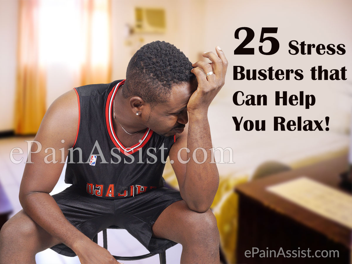 25 Stress Busters that Can Help You Relax and Release Stress