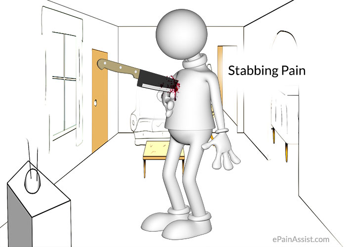 what can cause stabbing pain