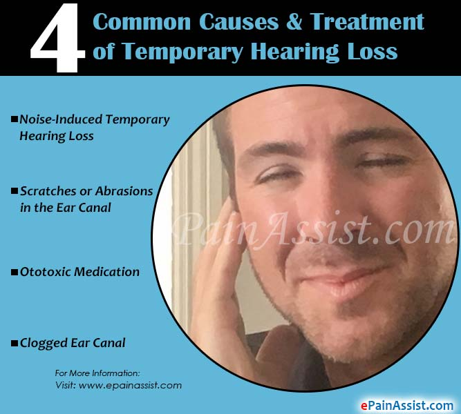 4 Common Causes of Temporary Hearing Loss & It's Treatment