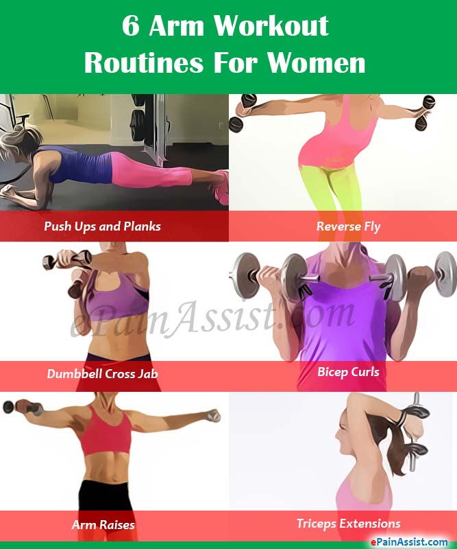 6 Arm Workout Routines For Women