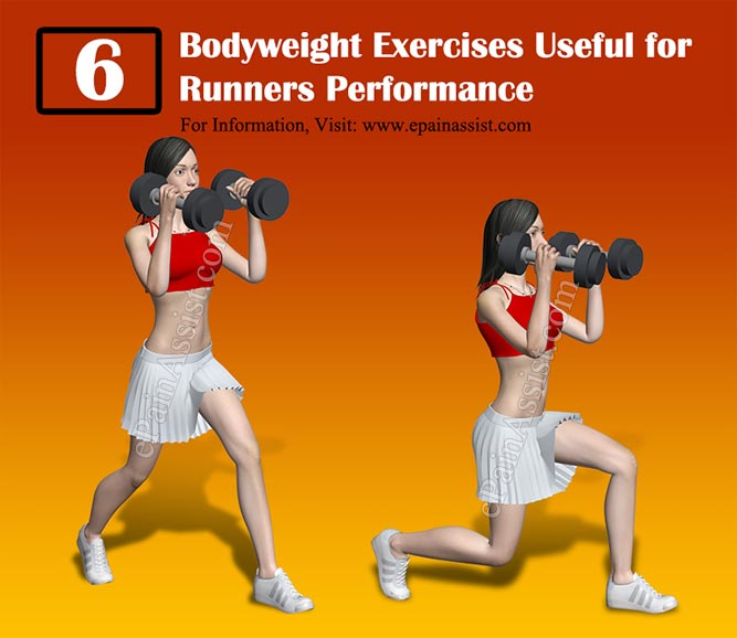 6 Bodyweight Exercises Useful for Runners Performance