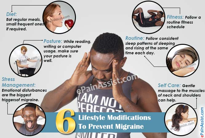 6 Lifestyle Modifications To Prevent Migraine