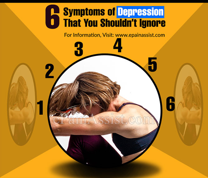 6 Symptoms of Depression That You Shouldn't Ignore