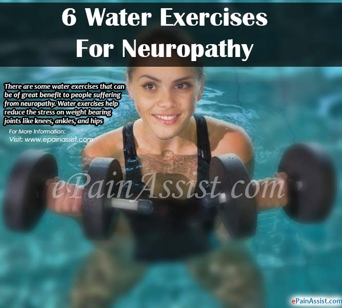 6 Water Exercises for Neuropathy