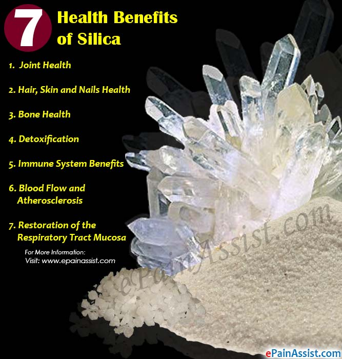 7 Health Benefits of Silica