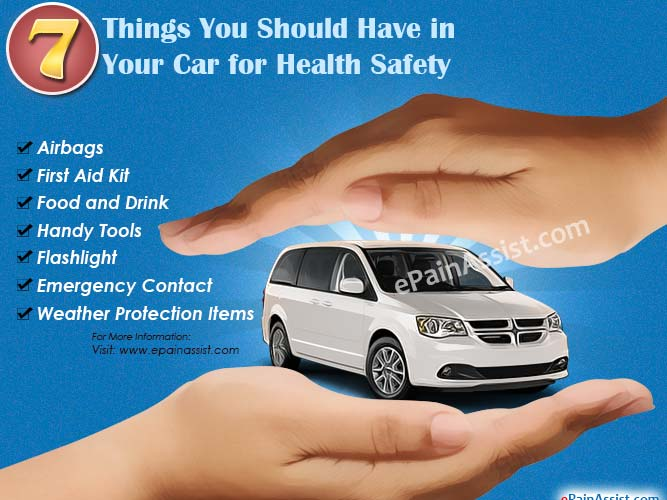 7 Things You Should Have in Your Car for Health Safety