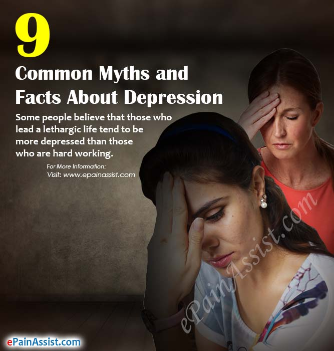9 Common Myths and Facts About Depression