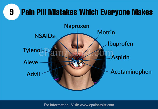 9 Pain Pill Mistakes Which Everyone Makes