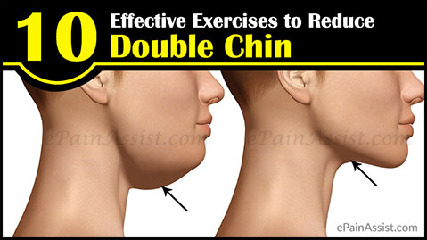 10 Effective Exercises to Reduce Double Chin