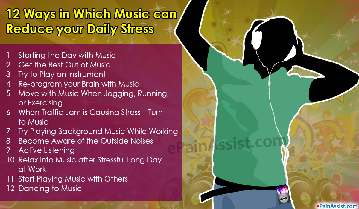 12 Ways in Which Music can Reduce your Daily Stress