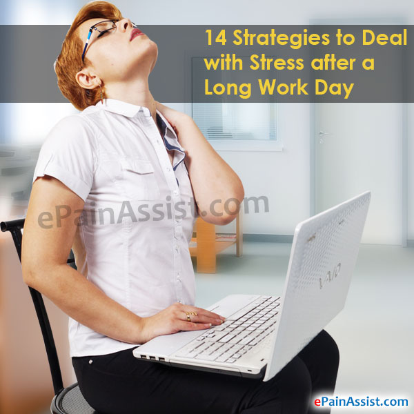 Strategies to Deal with Stress after a Long Work Day