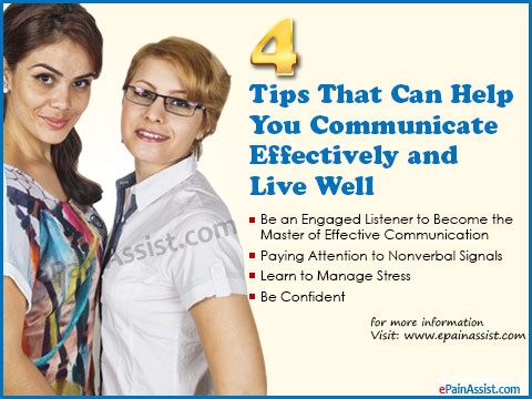 4 Tips That Can Help You Communicate Effectively and Live Well