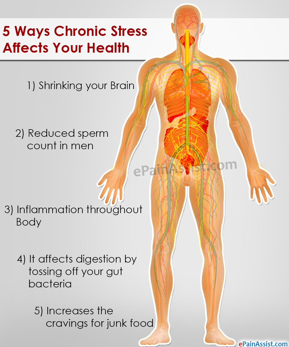 Chronic Stress Affects Your Health