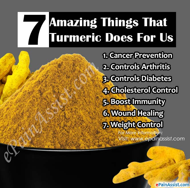 7 Amazing Things That Turmeric Does For Us