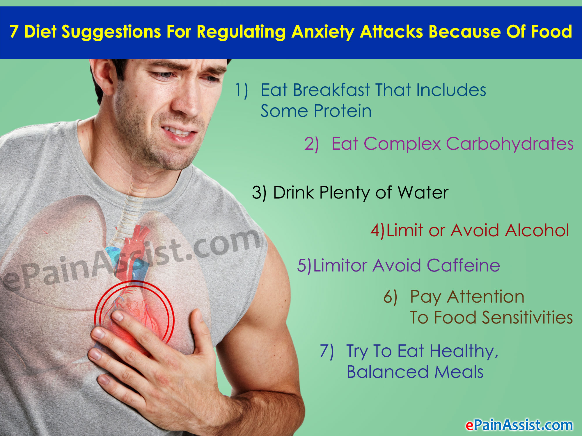 7 Diet Suggestions For Regulating Anxiety Attacks Because Of Food