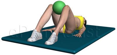 Learn How to do Adductor Squeeze Exercise, It Helps With Hip Tendonitis