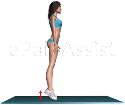 Suffering From Osteoarthritis of the Knee?  Performing Calf Raise Exercise Can Be Beneficial!