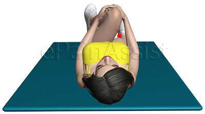 Gluteal Stretch Exercise for Iliopsoas Bursitis