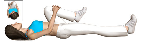 Gluteal Stretch for Sports Hernia or Athletic Pubalgia