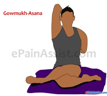 Gowmukhasana Or Cow Face Pose for Arthritis!