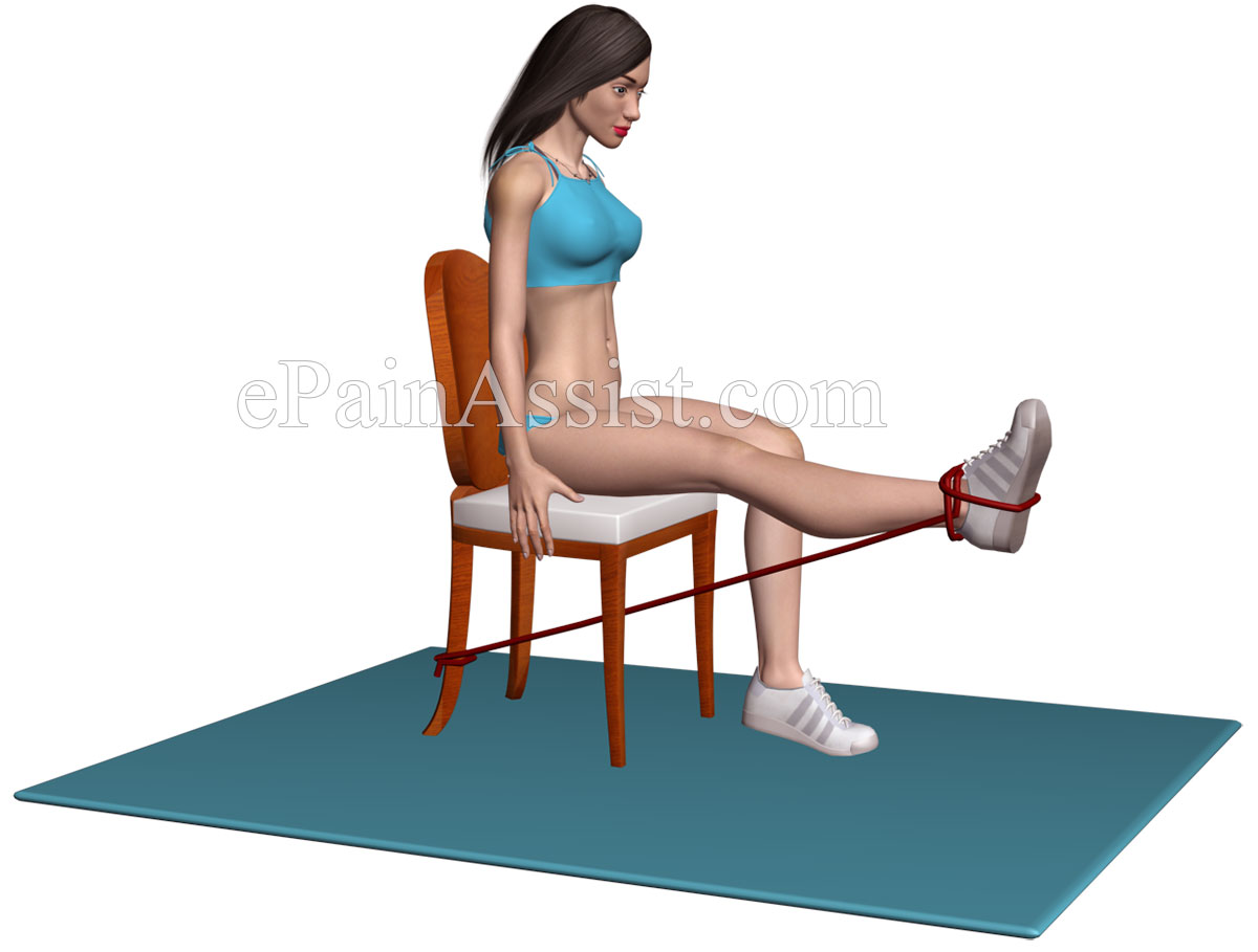 Suffering From Osteoarthritis of the Knee?  Performing Knee Extension Exercise Can Be Beneficial!