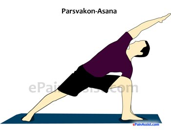 Side-Angle Pose or Parsvakonasana For Osteoporosis