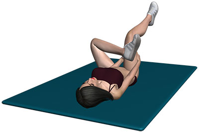 Suffering From Snapping Hip? Performing Piriformis Stretch Exercise Can Be Beneficial!