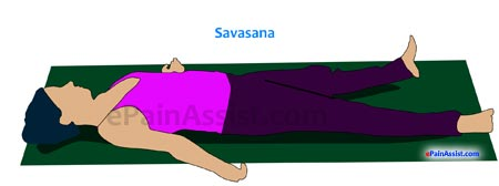 Savasana or Corpse Pose For Osteoporosis