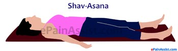 Shavasana or Corpse Pose for Scoliosis or Spinal Curvature