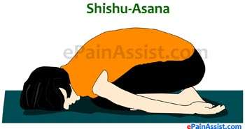 Shishuasana or Child Pose for Scoliosis or Spinal Curvature
