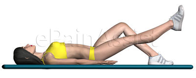 Learn How to do Lying Straight Leg Raise Exercise, It is Helpful For Hip Tendonitis